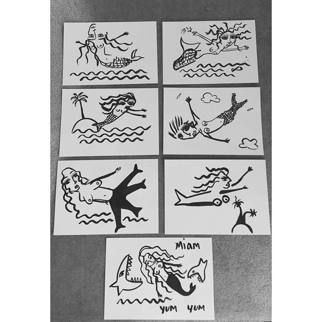 """""""fish and tits"""", 2014"""