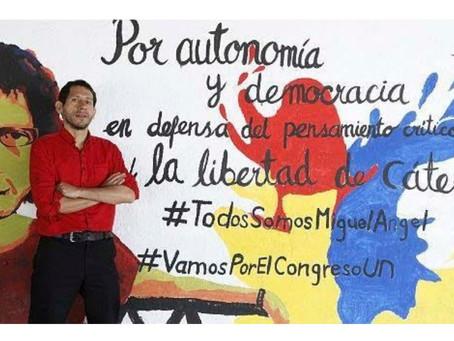 Crayola se solidariza con el profesor Miguel Ángel Beltrán