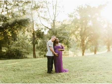The Turner Family - A Charlotte Hall Maternity/Family Session