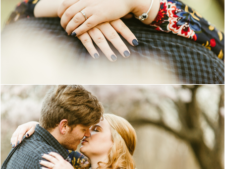 Mary & John - A Fort Washington Engagement Session