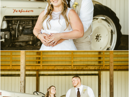 Jodi & Andrew - A Bowles Farm Wedding