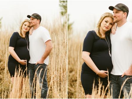 Taylor & Dale - A Potomac Speedway Maternity Session