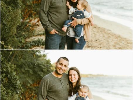 Caitlin & Travis - A Leonardtown Family Session