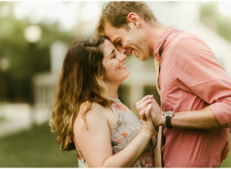 Chelsea & Chase  - A Great Falls Engagement Session