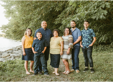 The Young Family - A Greenwell Family Session