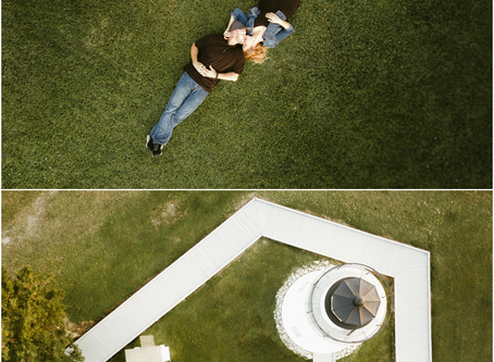 Sara & Lee - A Piney Point Lighthouse Engagement Session