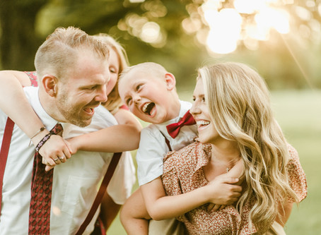 The Vathes Family  - A Charlotte Hall Family Session