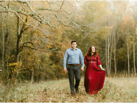Ashley & Michael - A St. Mary's Engagement Session