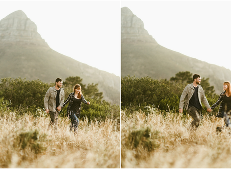 Chloe & Rudo - A Single Hill / Lion's Head Couple's Session - Cape Town, South Africa