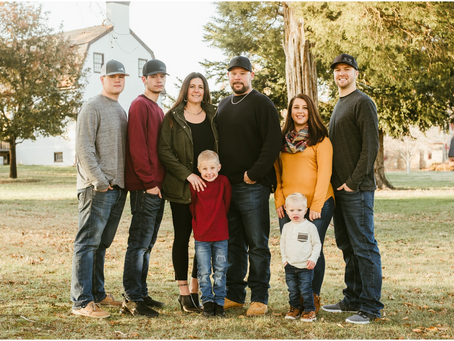 The Quade & Bailey Families - A Charlotte Hall Session