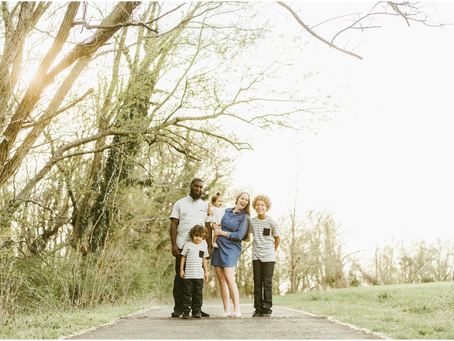 Sarah, Woody & Family - A St. Mary's Family & Engagement Session