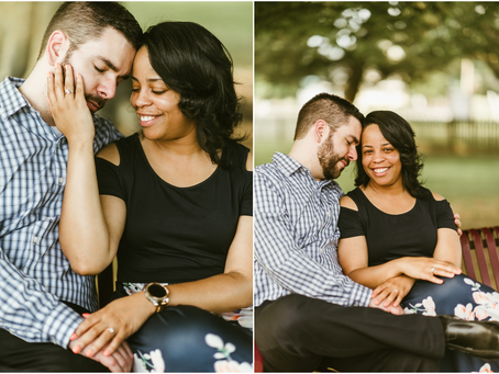 Monique & Chris - A Charlotte Hall Engagement Session