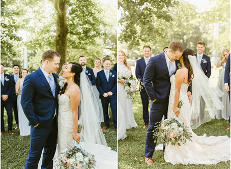 Elle & Paul - A State House Wedding