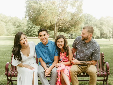 The Edwards Family - A St. Mary's Family Session