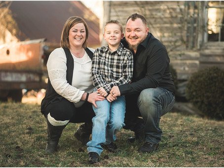 The Stroud Family - Family Session