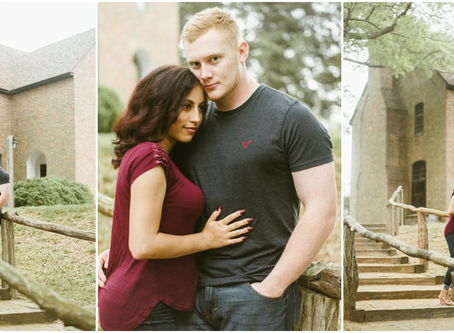 Morgan & Adam - A St. Mary's City Engagement Session