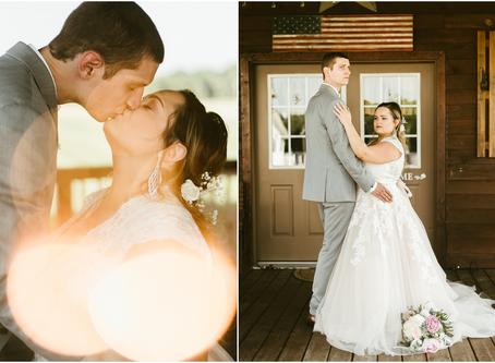 Sydney & Jacob - A Bowles Farm Wedding