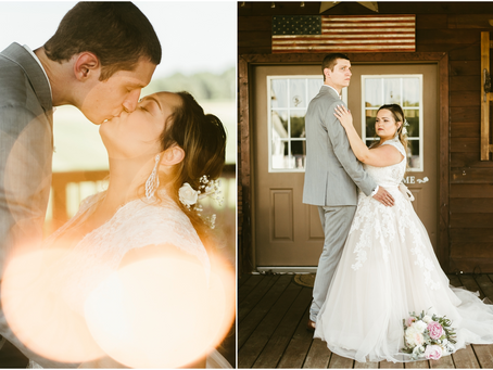 Sydney & Jacob - A Bowles Farm Wedding