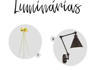 Luminárias - Projeto escritório Conteúdo Urbano