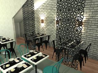 Dia de obra - Restaurante Liro Pot