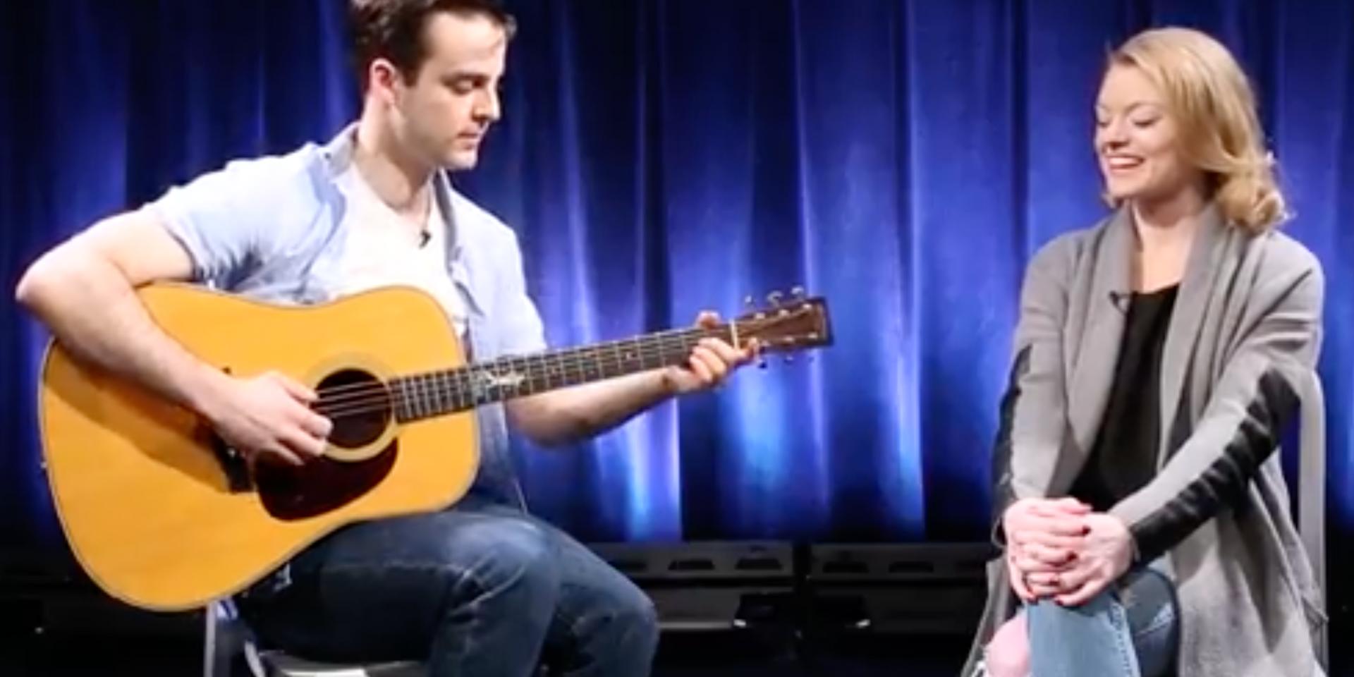 Ruby Lewis & Ryan Vona Sing 'Everything' Unplugged