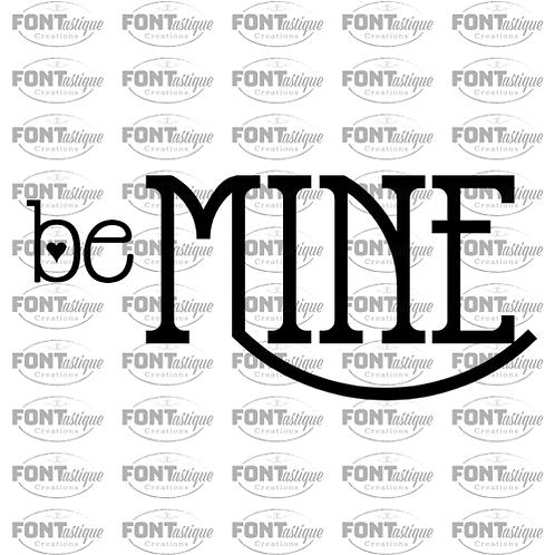 """Be Mine (12""""x24"""")"""