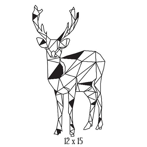 """Deer (12""""x 15"""")"""