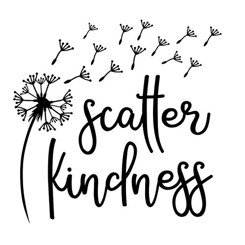 "Scatter Kindness (12""x12"")"