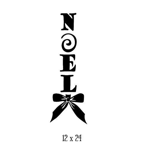 "NOEL (12""x 24"")"