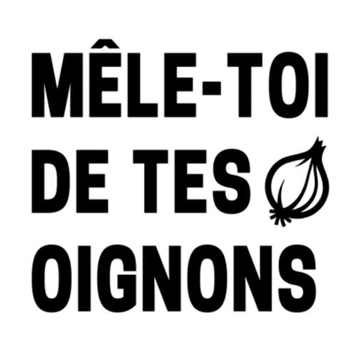 """Mele-toi de tes oignons (12""""x12"""")"""