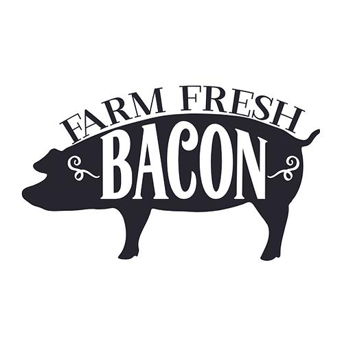 """Farm Fresh Bacon (12""""x 18"""")"""