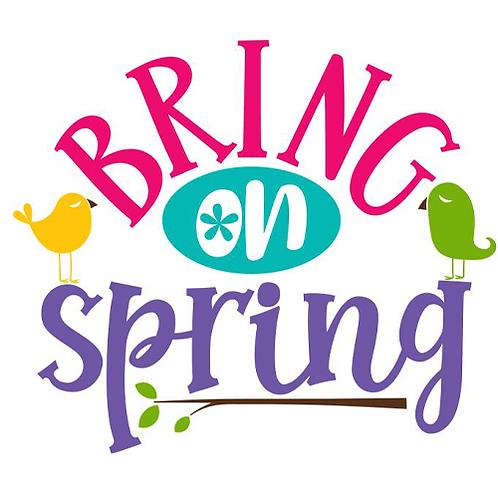 "Bring on Spring (12""x12"")"