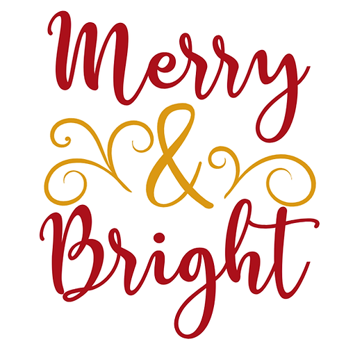 "Merry & Bright (12""x 12"")"