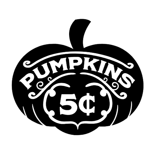 "Pumpkins  (12""x 12"")"
