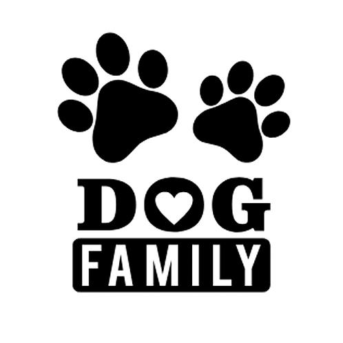 "Dog Family (12""x 12"")"