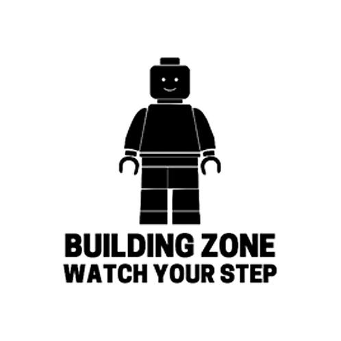"""Building Zone Lego (12""""x12"""")"""