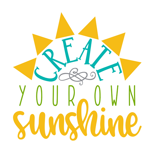 "Create your own Sunshine (12""x12"")"