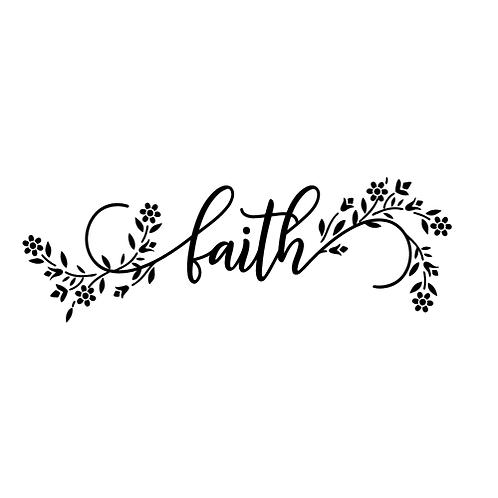 """Faith (12""""x24"""")"""