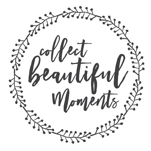 "Collect beautiful moments wreath (12""x12"")"