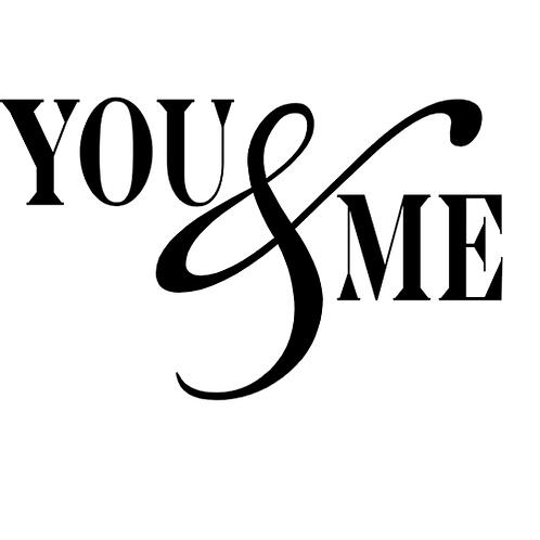 """You & Me (12""""x18"""")"""