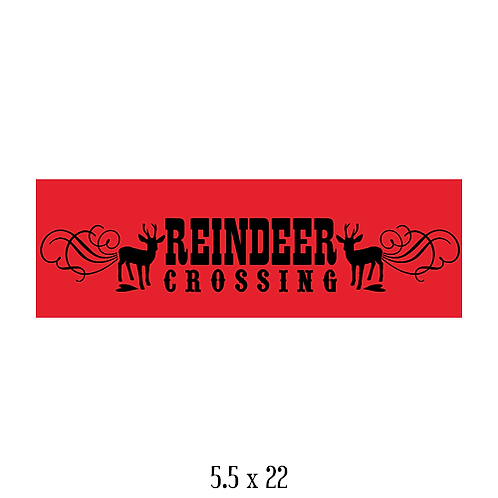 """Reineer Crossing (5.5""""x 22"""")"""