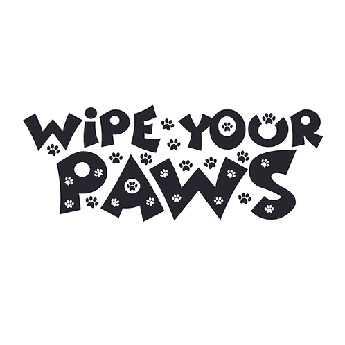 "Wipe your Paws (12""x18"")"