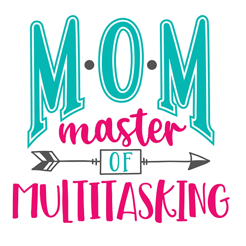 "Mom Master of Multitasking (12""x 12"")"