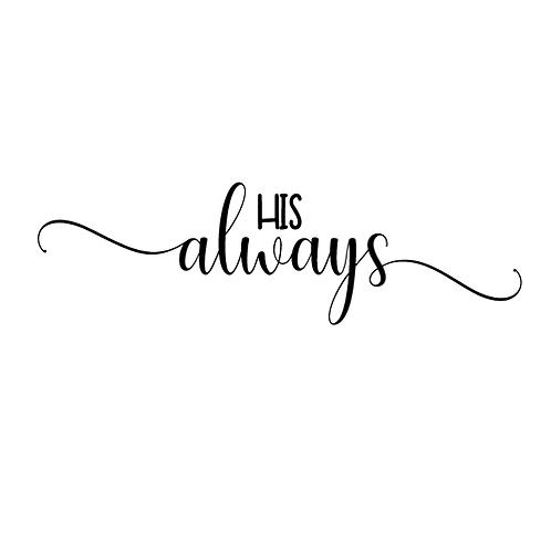 """His always (12""""x24"""")"""