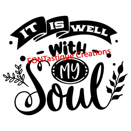 """It is well with my Soul (12""""x12"""")"""
