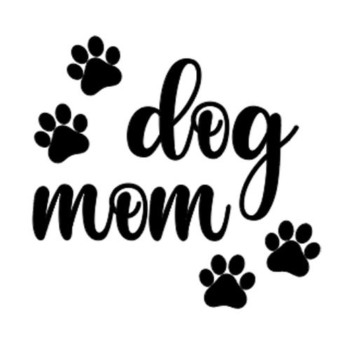 "Dog Mom (12""x12"")"