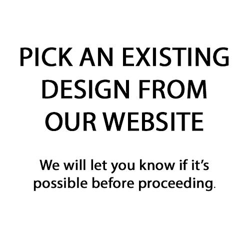 Pick an existing website design (10x12)