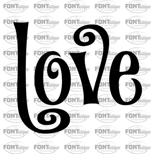 """Love (12""""x12"""")"""