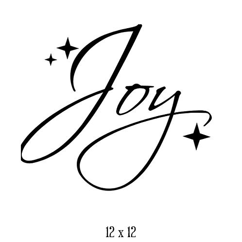 """Joy (12""""x 12"""")"""