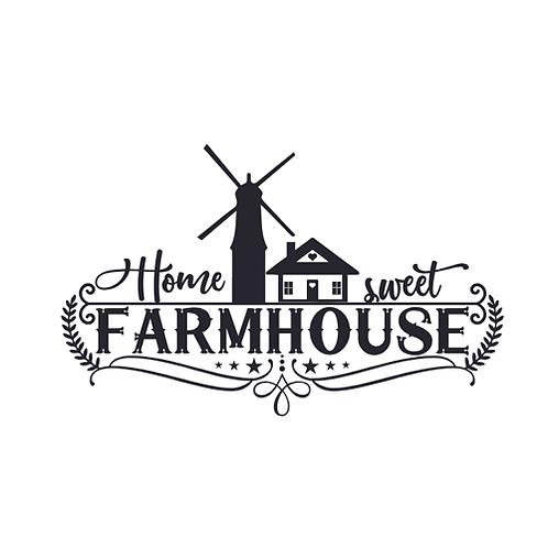 """Home Sweet Farmhouse  (12""""x 24"""")"""